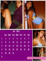 Calendario Porno Amateur 2012 de Marranazas.com